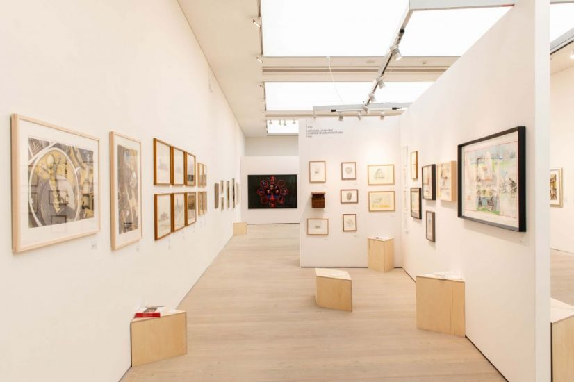 Draw Art Fair London - Draw art Fair, London, 2019, Installation view, Stand G1.1. Photo by Charles Best, courtesy Draw Art Fair London