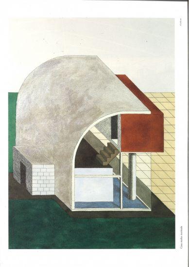 Mostra architettura attenuata 24 disegni di ettore for Disegni mobili casa